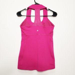 Lululemon Tank Top High Neck T Back Pink